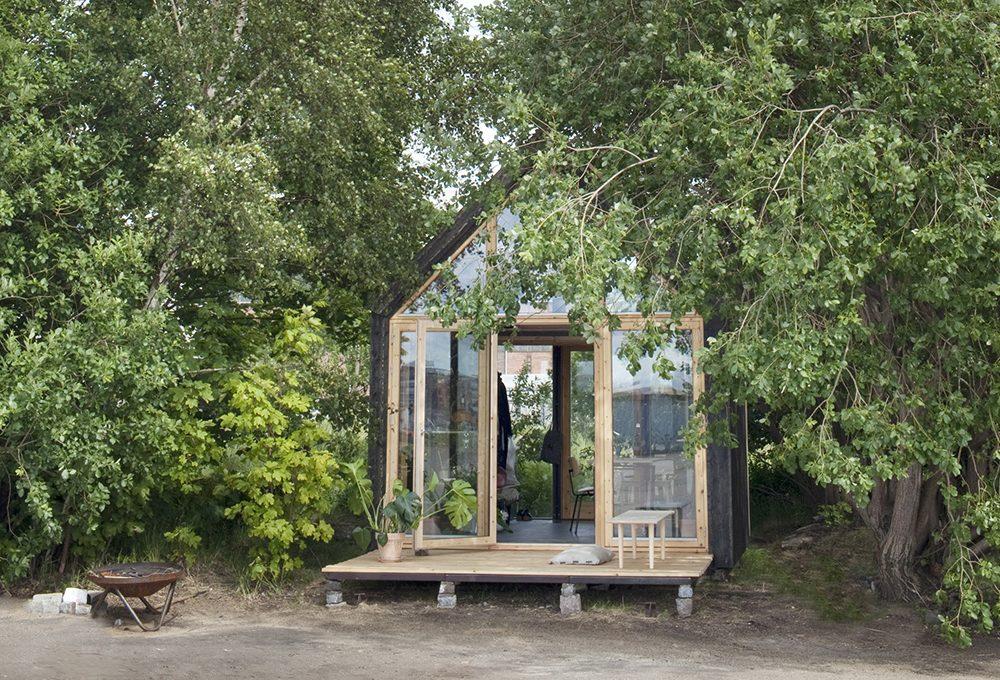 15mq per una mini casa in legno eco-sostenibile