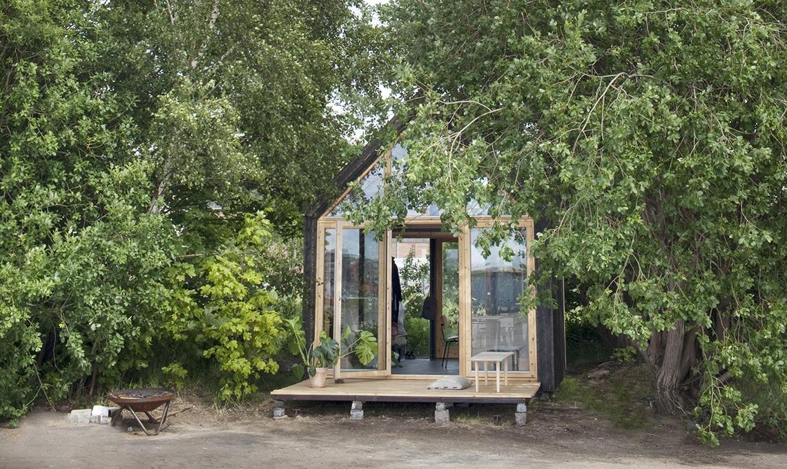 15mq per una mini casa in legno eco sostenibile casafacile - Minibar per casa ...