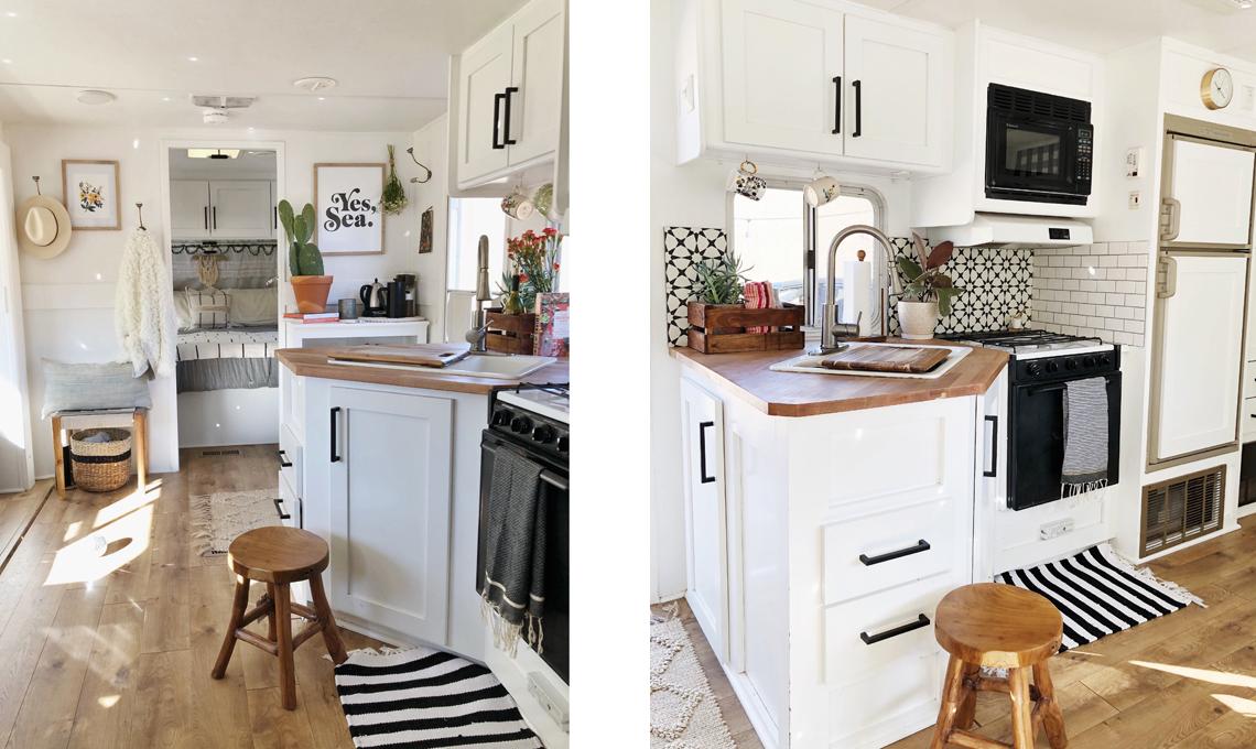 Idee Per Interni Roulotte : Mini casa in una roulotte casafacile