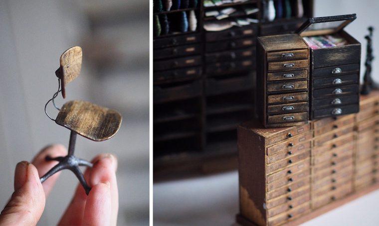 Il fascino delle miniature tra oggetti e arredi in formato mignon