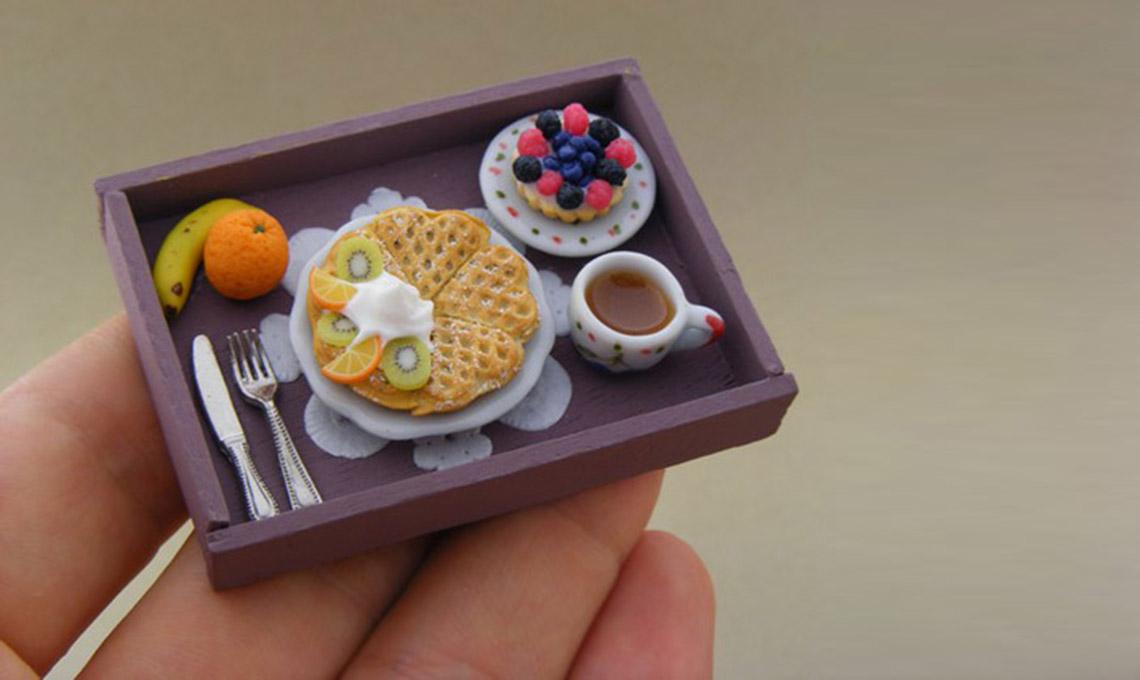 miniatura di cibo