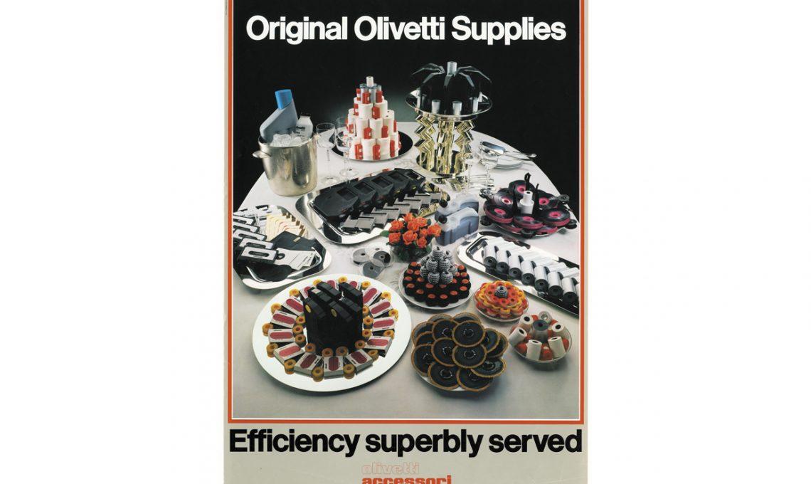 Manifesto pubblicitario Olivetti (1983)