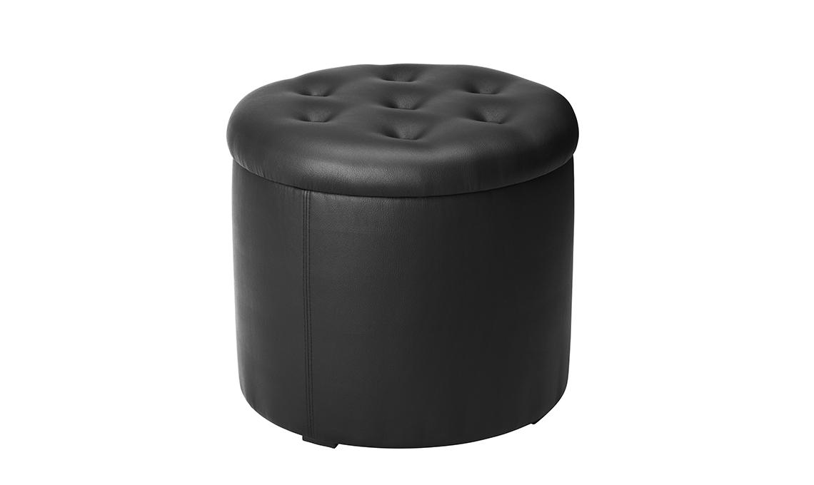 pouf nero