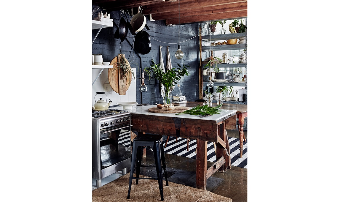 angolo cucina vintage
