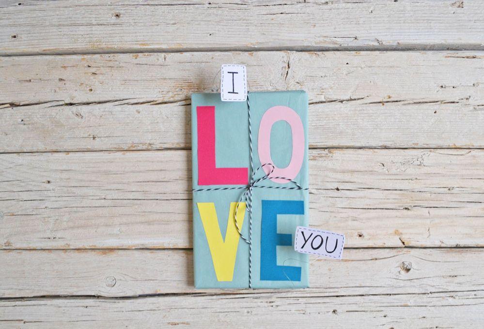 Crea un pacchetto fai-da-te per San Valentino