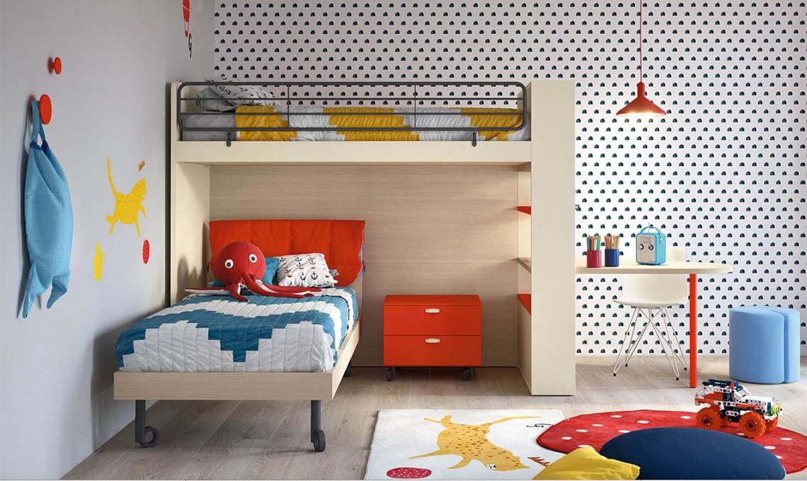 10 carte da parati di design per la cameretta casafacile for Carta parati ragazzi