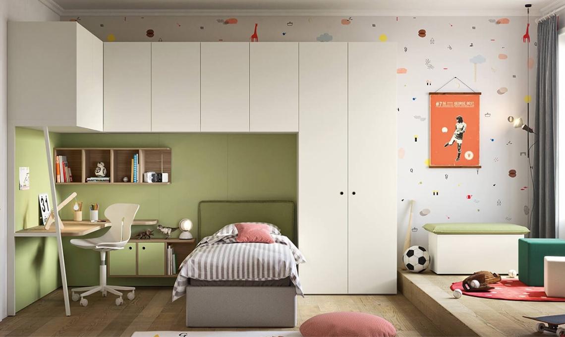 10 carte da parati di design per la cameretta casafacile for Carta da parati tonin casa