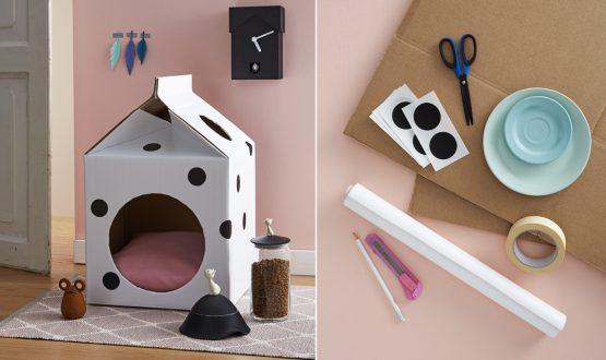 Crea una cuccia fai-da-te per il tuo gatto