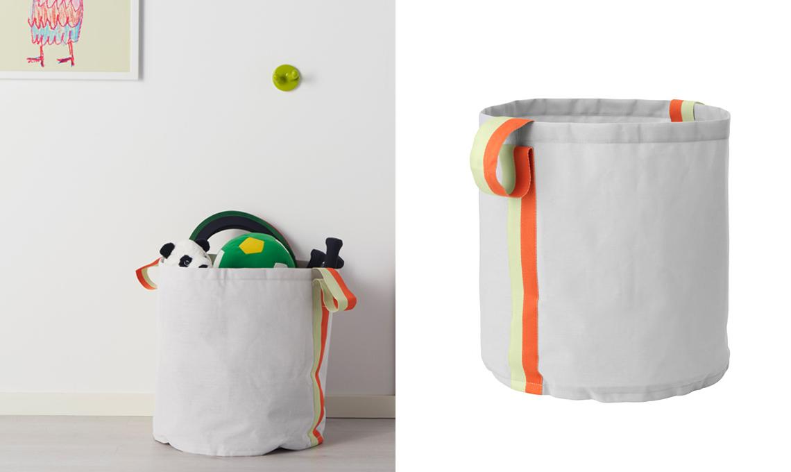 20 soluzioni portagiochi per tenere in ordine la cameretta for Ikea ordine