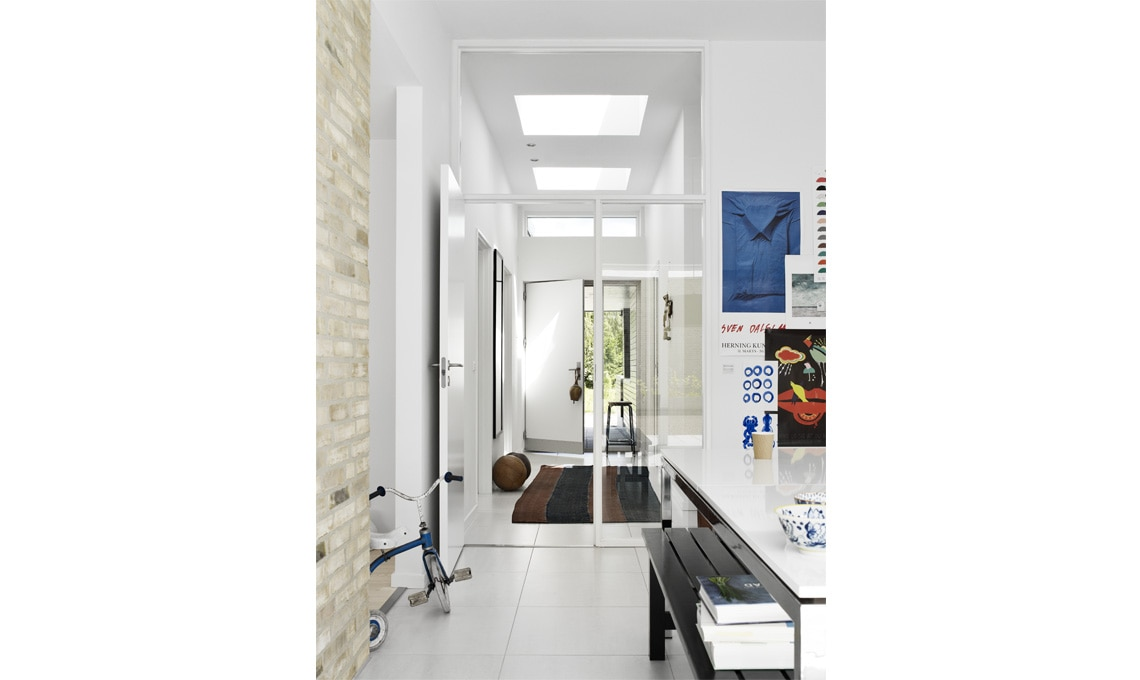 interno casa luminoso con Velux