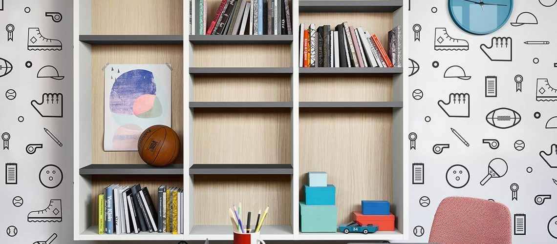 10 librerie per la camera dei ragazzi