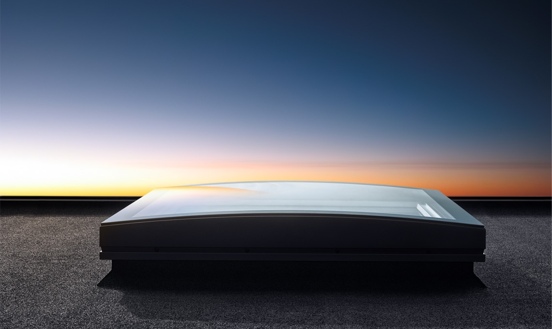 esterno, tramonto