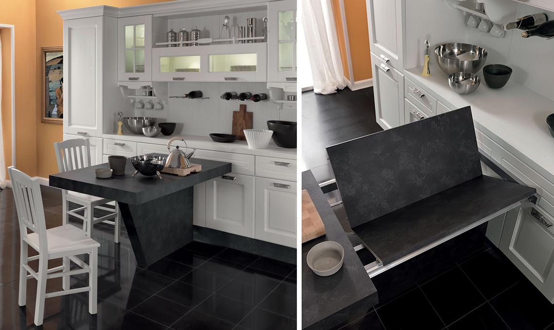 Idee Design Cucina : Tavoli e tavolini pieghevoli allungabili casafacile