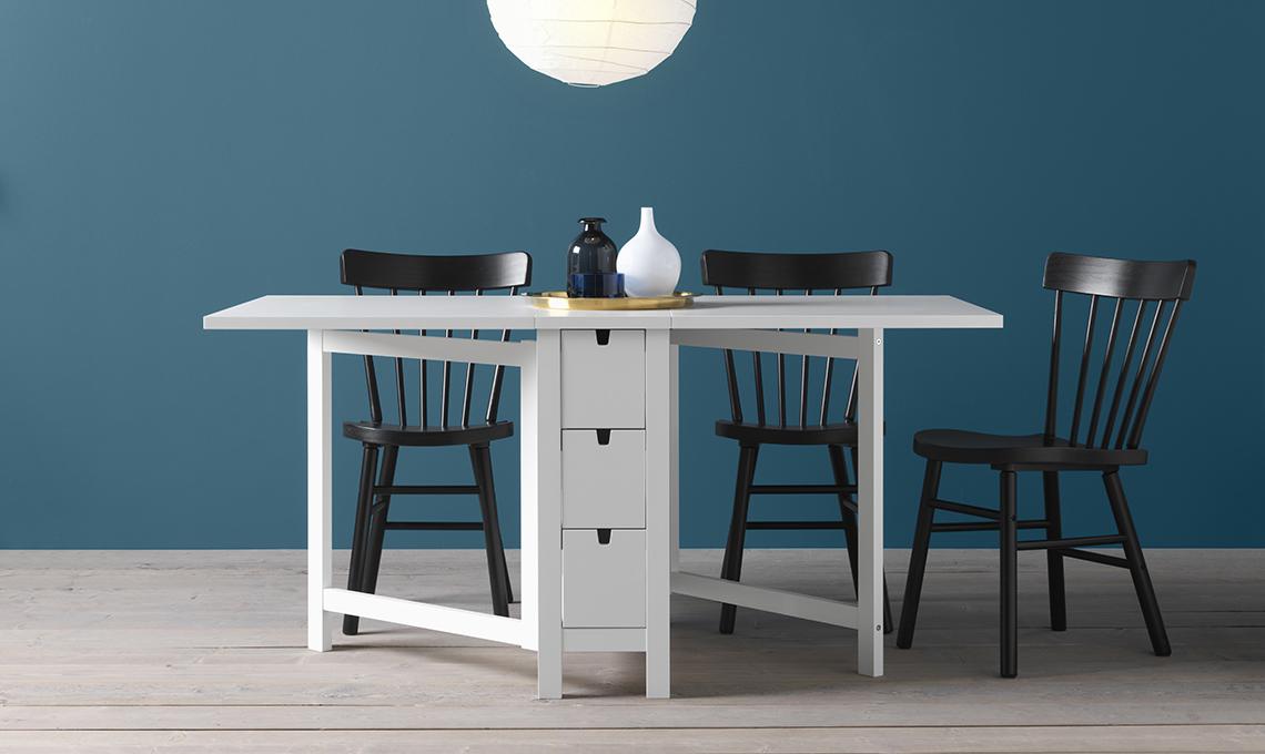 Tavoli e tavolini pieghevoli e allungabili casafacile - Norden tavolo a ribalta ...