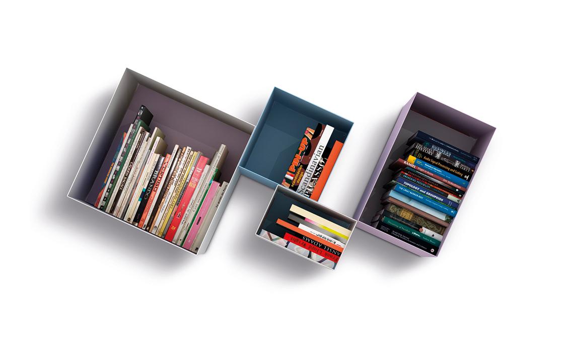 Mensole e piccole librerie per sfruttare lo spazio in casa