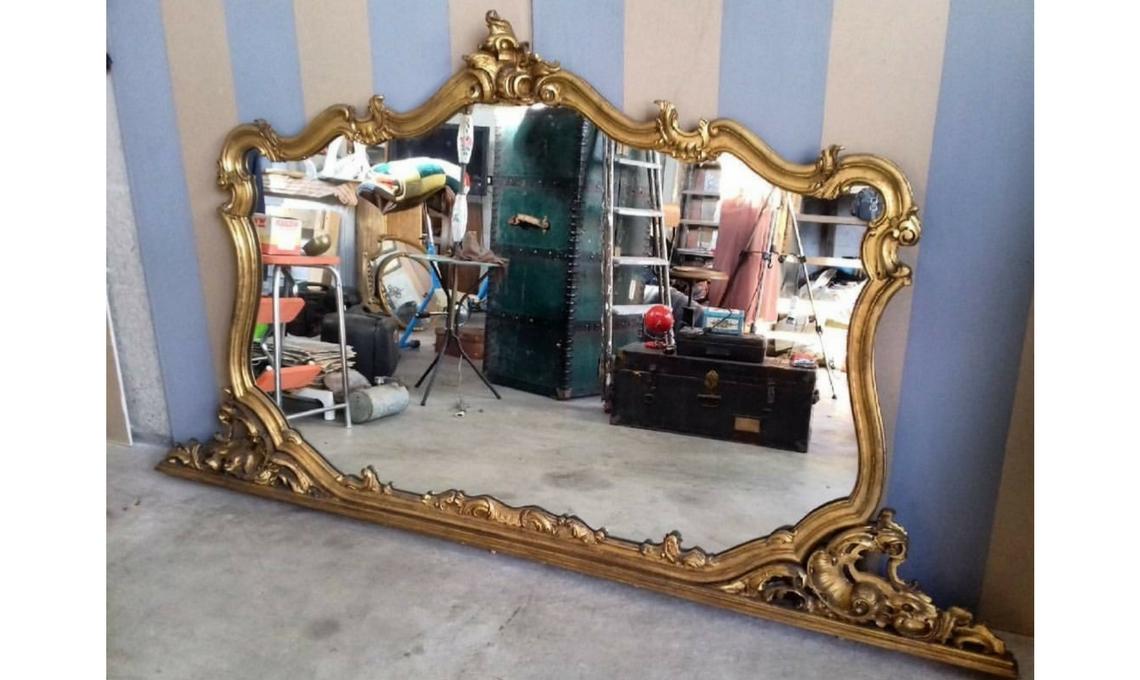 CasaFacile FZucca modernariato RigattierePavese specchiera
