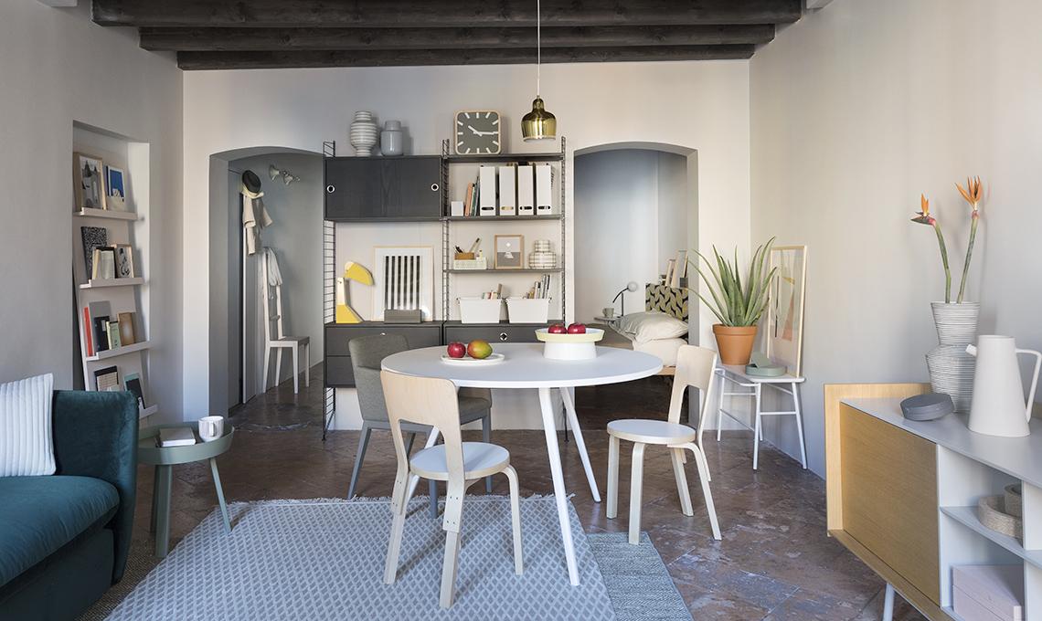 Prima e dopo in una mini casa ordine e praticit con for Arredare mini appartamento ikea