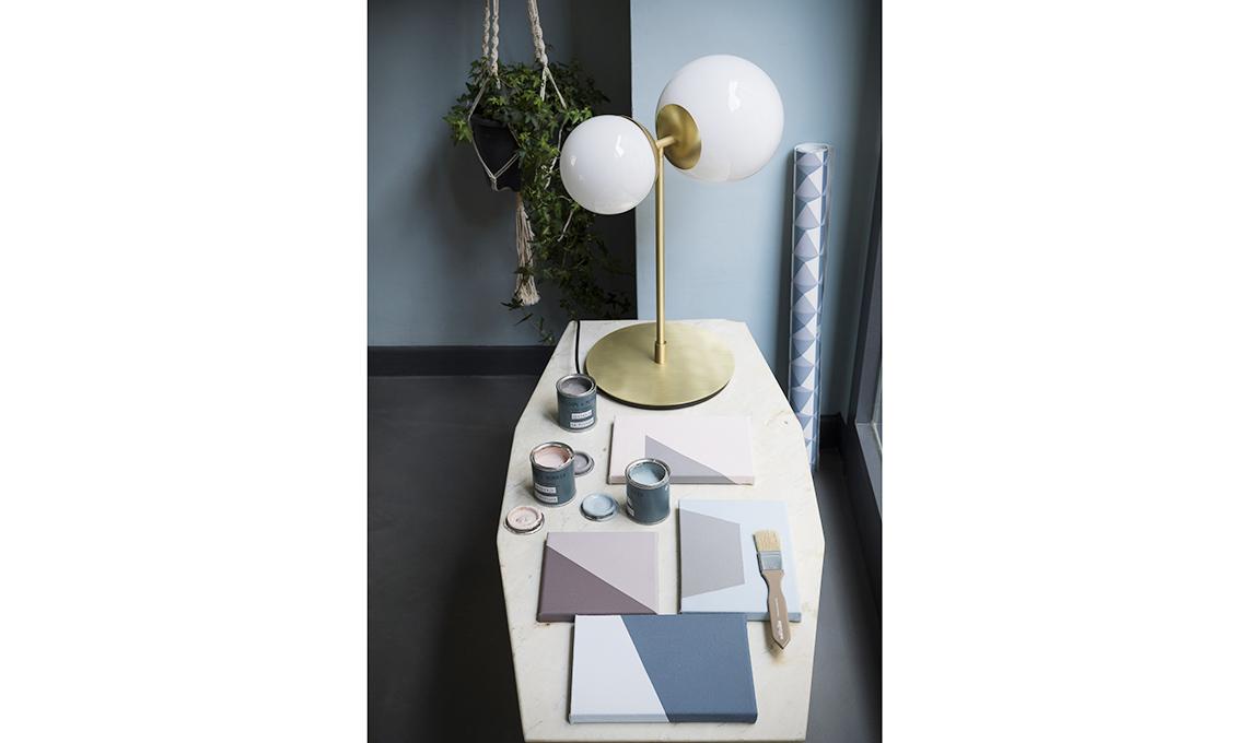 lampada da tavolo ottone