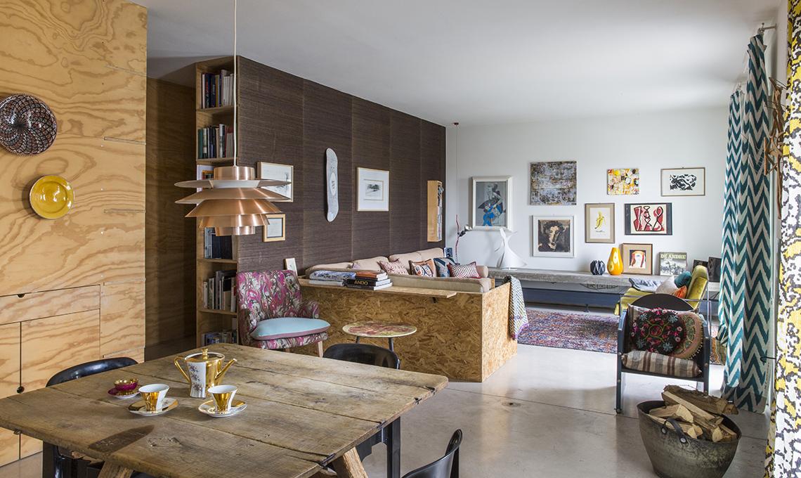 Mobili contenitori e pareti in legno per dividere lo spazio - CASAfacile
