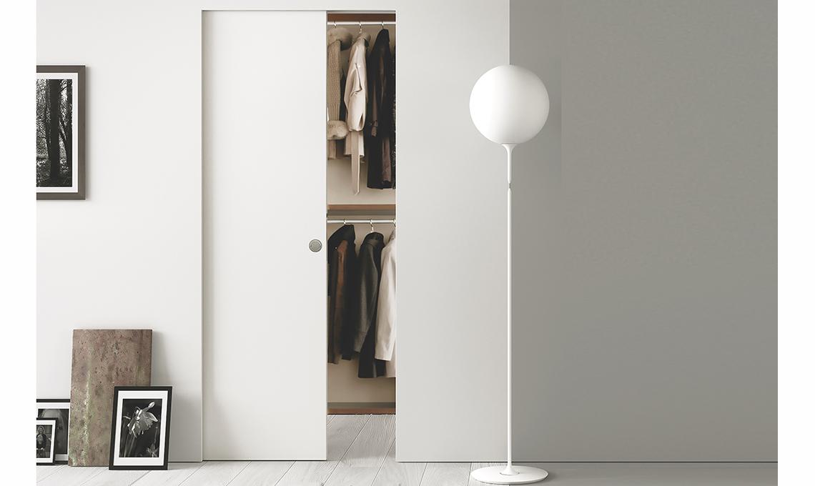 Porte scorrevoli per dividere e creare una stanza nella for Eclisse syntesis prezzo