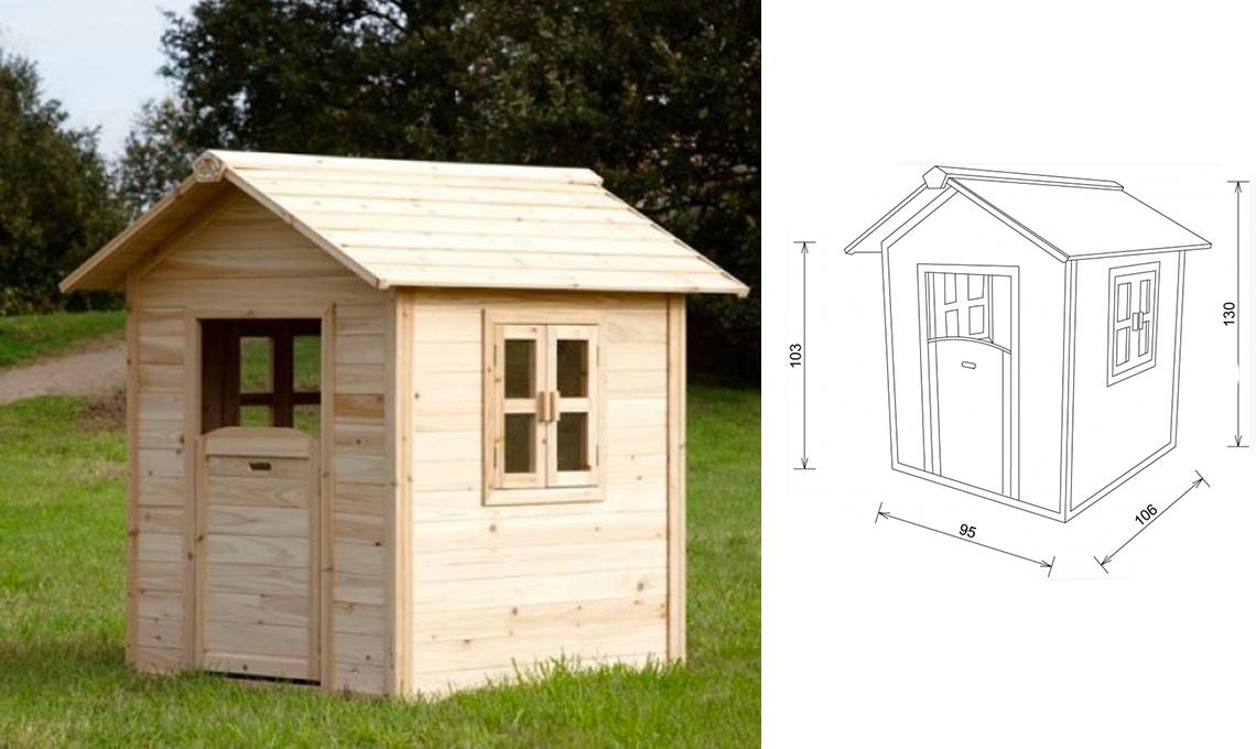 6 casette da giardino di design per bambini casafacile for Casa legno bambini