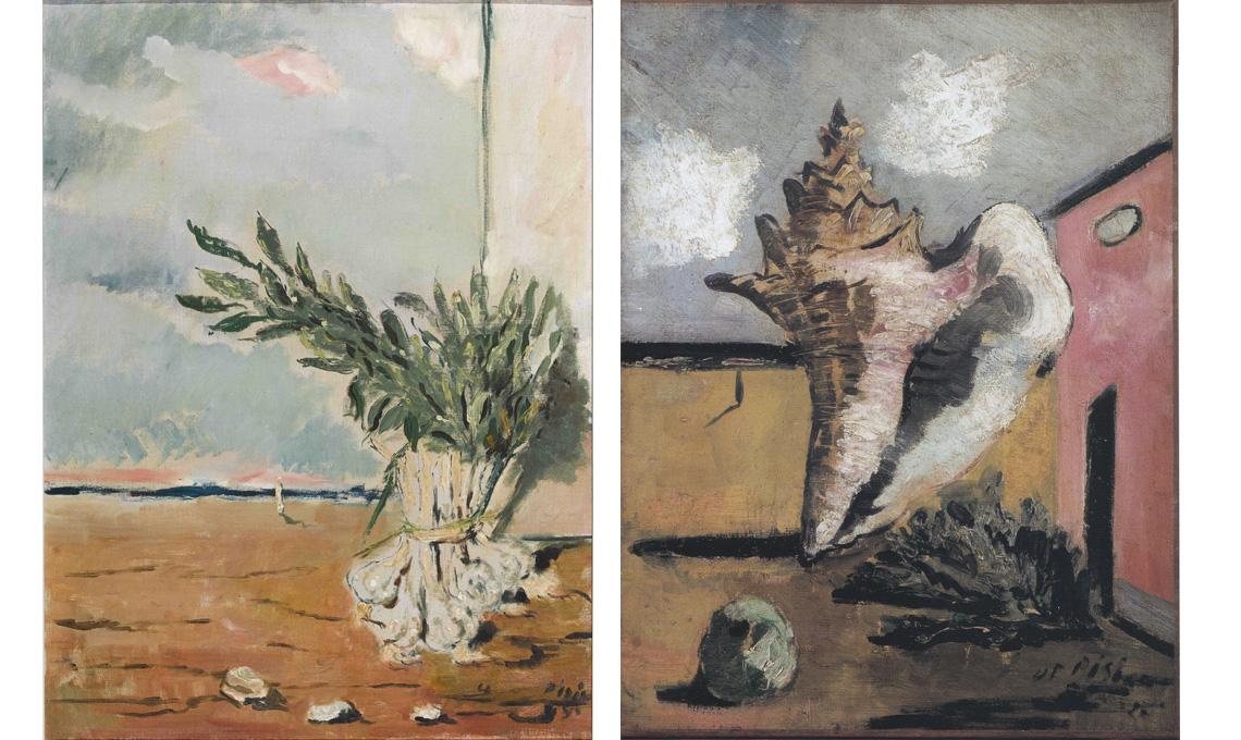 Filippo De Pisis, al MEF - Museo Ettore Fico di Torino, fino al 22 aprile 2018