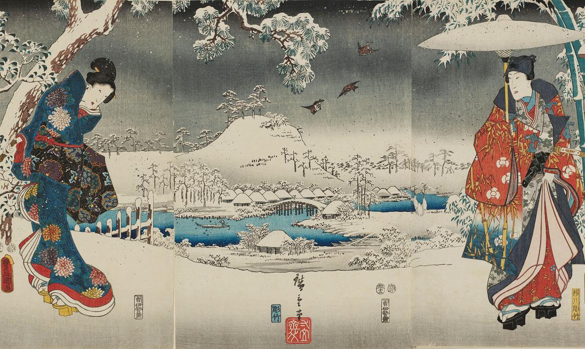 Hiroshige, alle Scuderie del Quirinale di Roma, fino al 29 luglio 2018