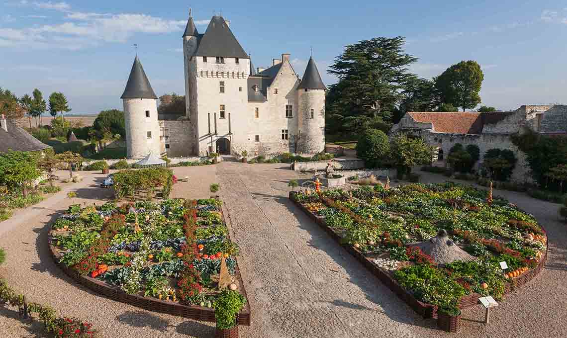 Il castello di rivau giardini da visitare nel cuore della for Giardini da visitare