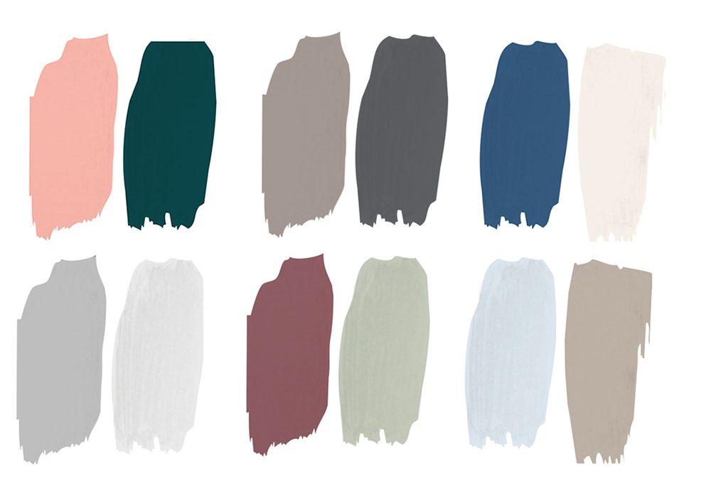 Come abbinare i colori per le pareti di casa