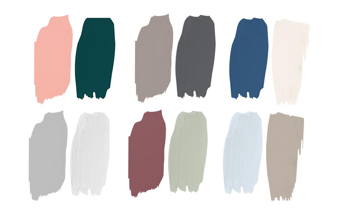 Come abbinare i colori per le pareti di casa casafacile for Tavole colori per pareti