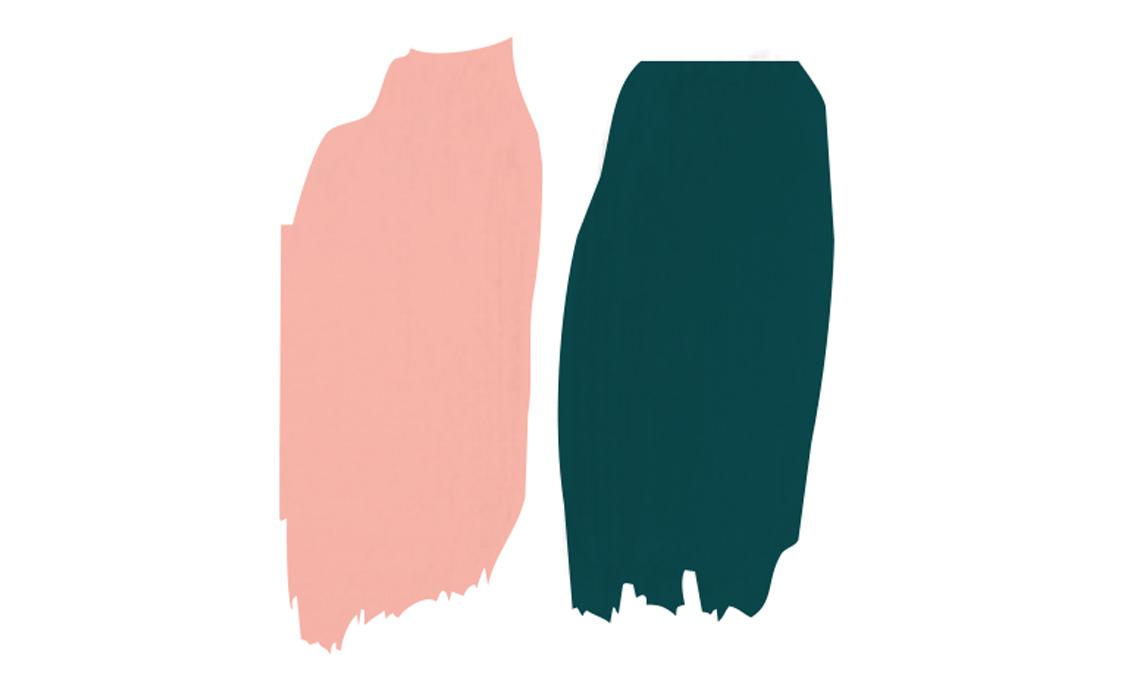 abbinare rosa e verde