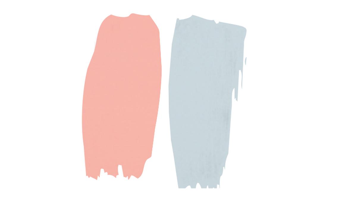 abbinare rosa e azzurro