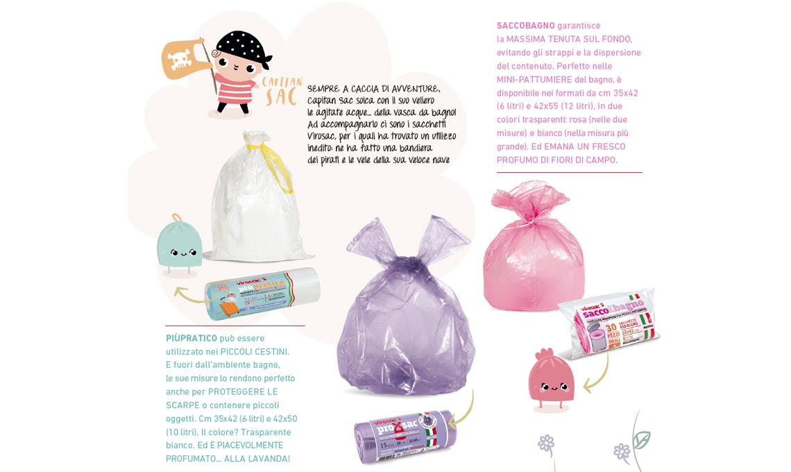 I bagno il profumati sacchetti décor CASAfacile per rnxX8qr