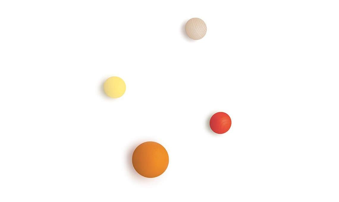 Attaccapanni Pomelli.11 Appendiabiti Di Design Per La Cameretta Casafacile