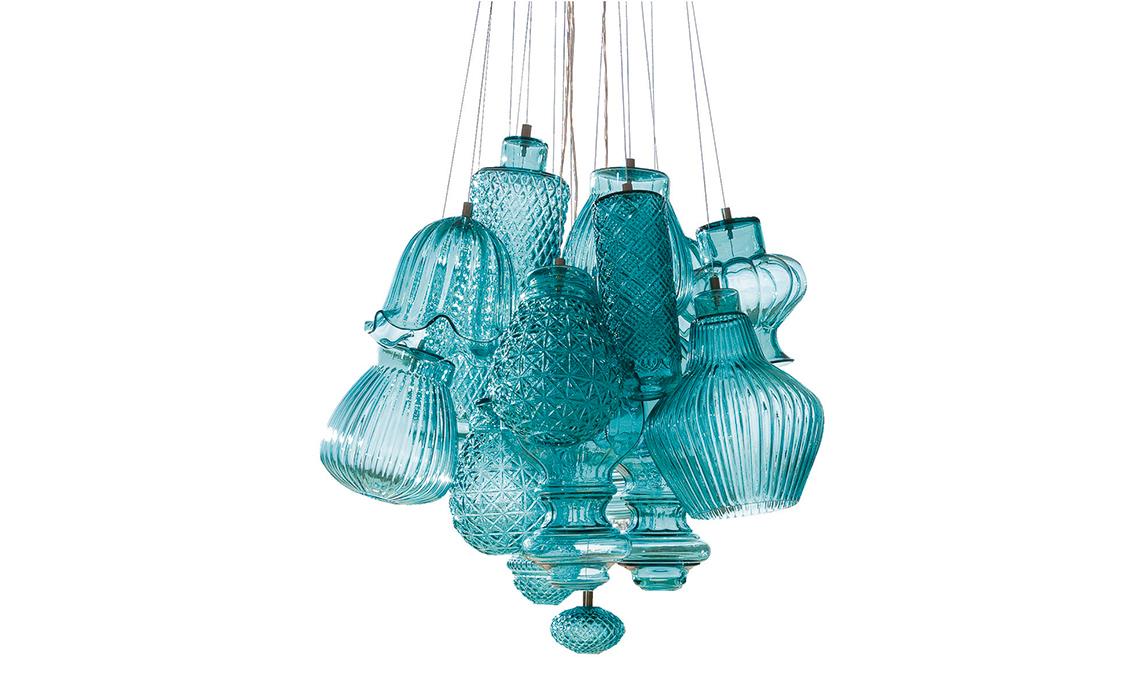 lampadario cristallo moderno