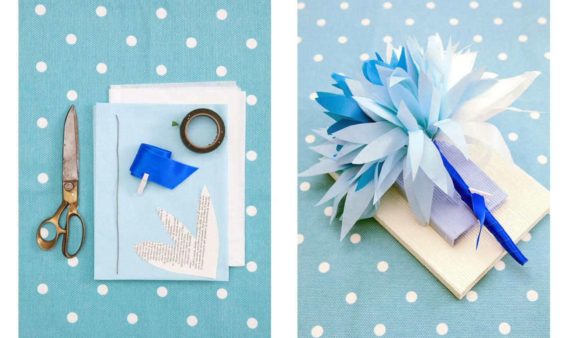 CASAfacile GFrassi bouquet carta DIY