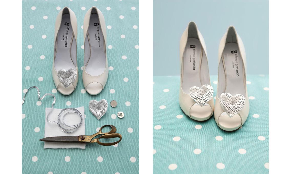 CASAfacile GFrassi scarpe sposa DIY