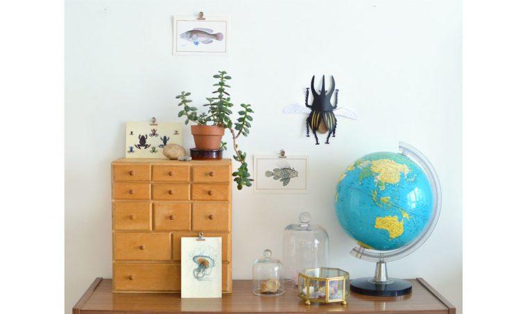 Ispirazione fai da te da Instagram, lo scarabeo di cartoncino