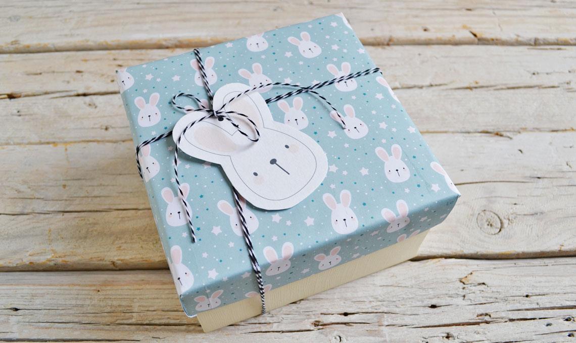 CasaFacile APozzan riuso carta scatola coniglietto