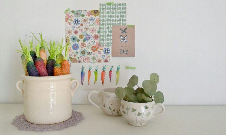 Spring décor fai da te con le carote di Polignano a mare