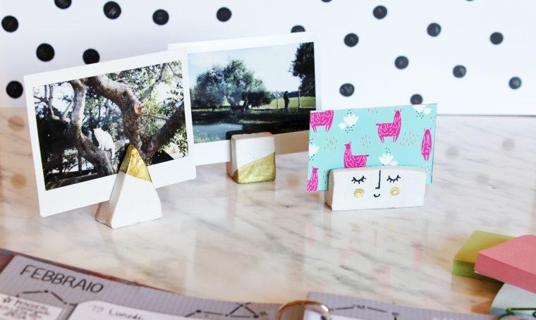 Tutorial DIY: porta foto dorati