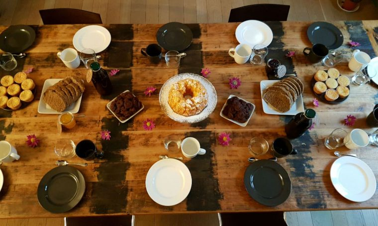 Come ricevere ospiti a colazione