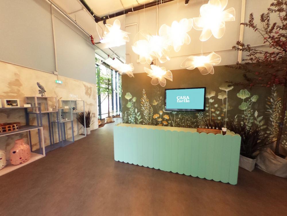 Tour virtuale a 360° CasaFacile Design Lab 2018