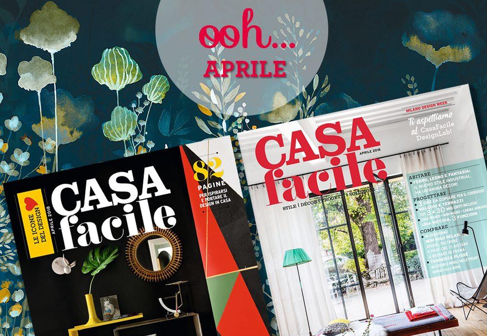 CasaFacile: il numero di aprile 2018