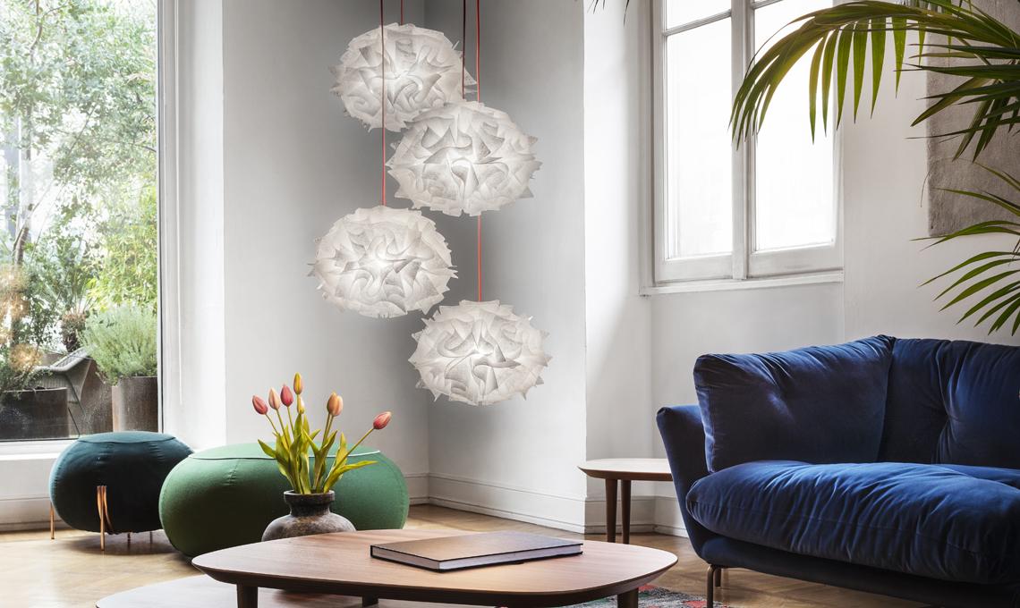 Lampadario Fiorella Slamp : Come si installa e come si pulisce la lampada slamp veli mini