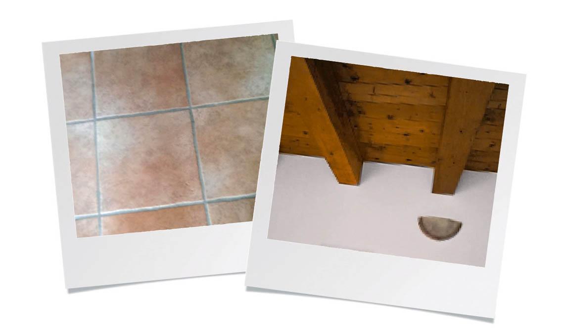 Travi a soffitto quali colori abbinare casafacile