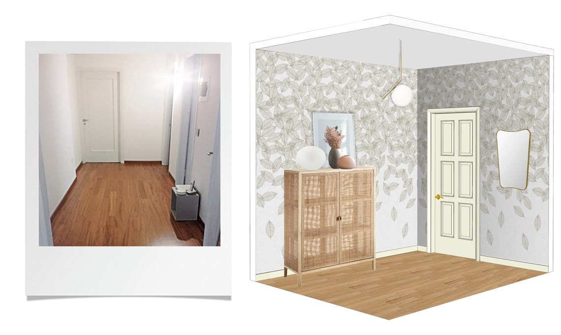 Idee ingresso idee ingresso casa idee per arredare il for Idee colori pareti ingresso