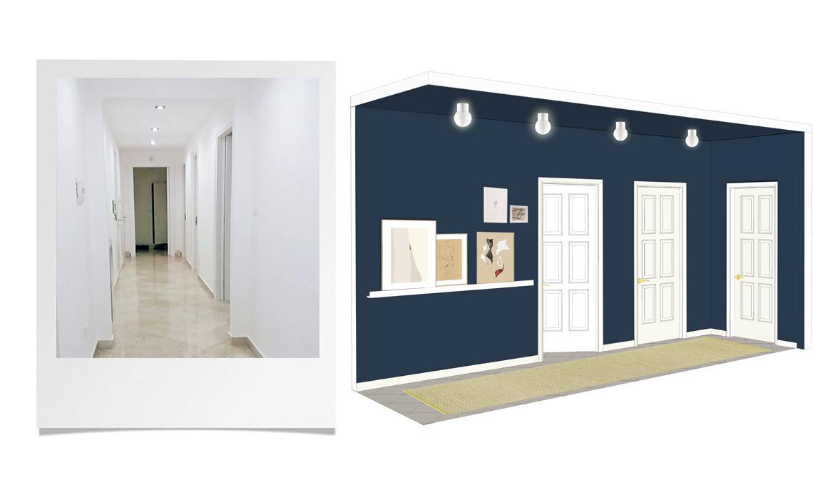 3 idee per arredare il corridoio casafacile for Arredare un corridoio stretto