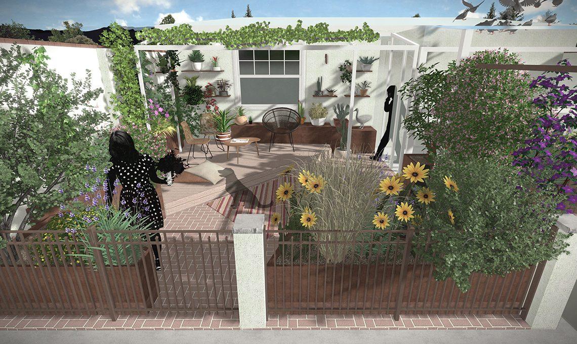 Come arredare e organizzare un grande terrazzo casafacile