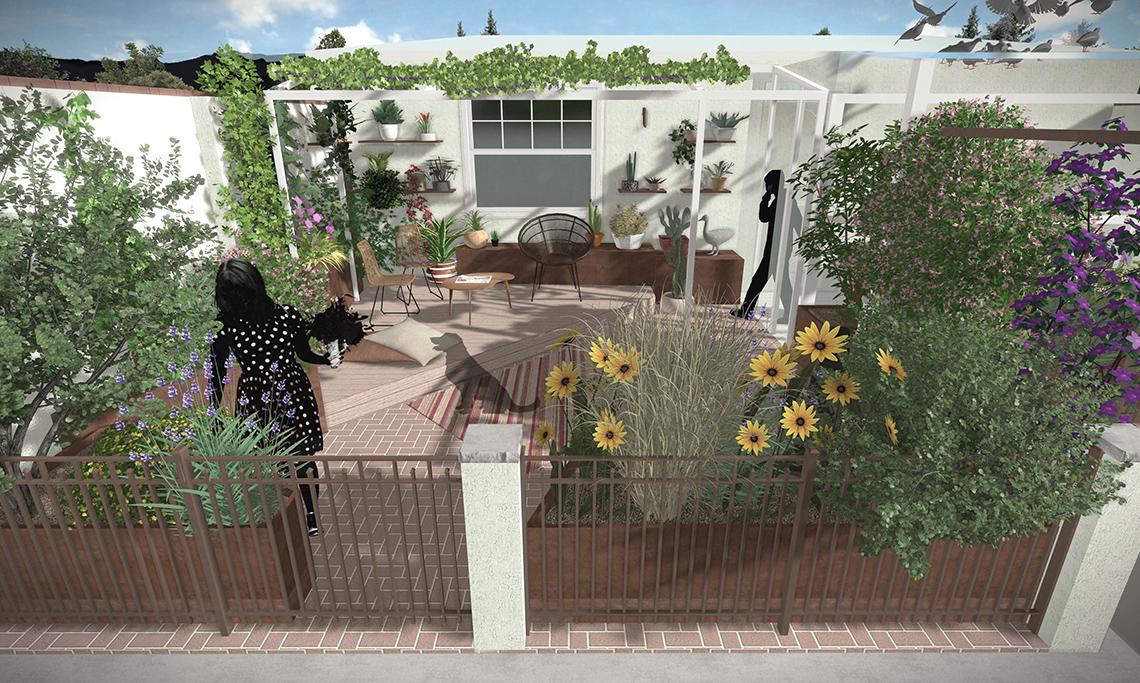 rendering terrazzo